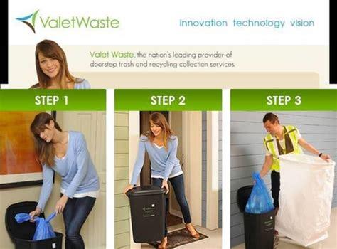 valet living trash part time service valet doorstep trash collection in