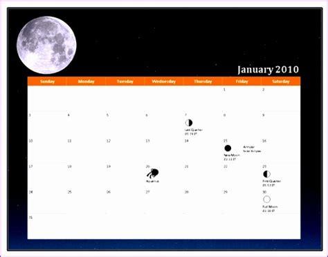 Calendar Template Office 2003