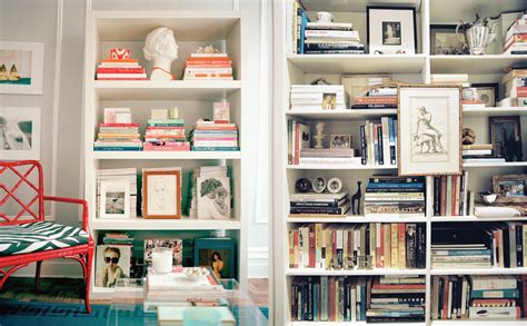 card company bookshelf inspiration