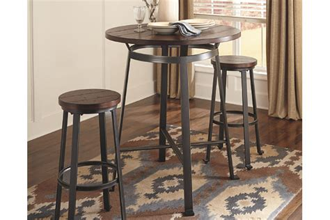 pub dining room table challiman dining room pub table furniture homestore