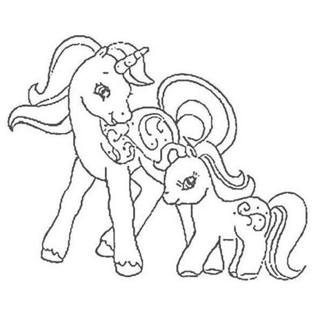 hello pony coloring pages my little pony coloring pages mother and her baby pony