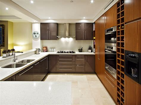 Nice Kitchen Design Ideas by Modern Open Plan Kitchen Design Using Granite Kitchen