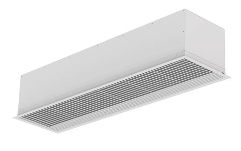 recessed air curtain air curtain recessed compact