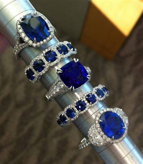 Blue Safir With Ring best 25 blue sapphire rings ideas on sapphire