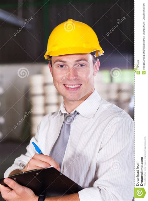 Factory Manager by Factory Manager Stock Image Image 27309811