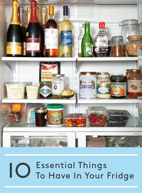 ten kitchen essentials to take along on a holiday recipesupermart 10 things you should always have in your fridge 10