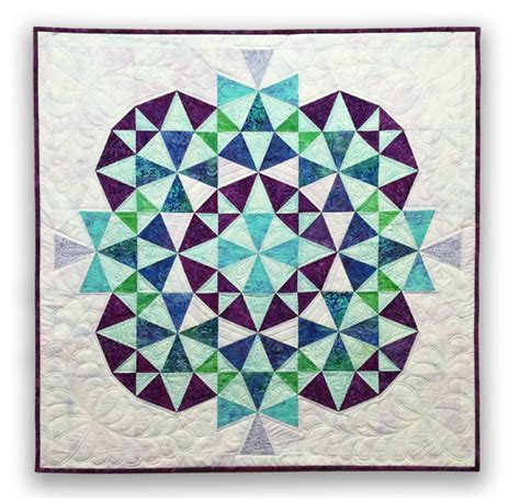Kaleidoscope Patchwork Quilt Pattern - kaleidoscope 2 quilt eleanor burns signature quilt