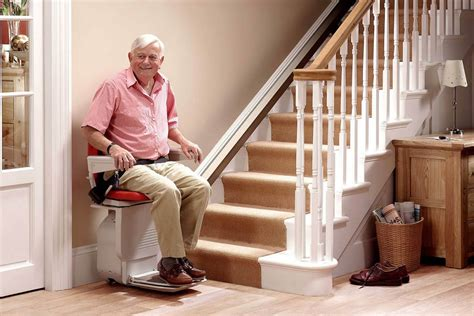 Home Design Ideas For Seniors Best Chair Stair Lift Home Stair Lift Greater Comfort