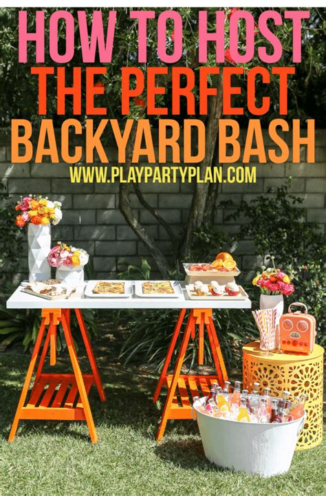 planning a backyard party how to host a backyard bash your guests will love