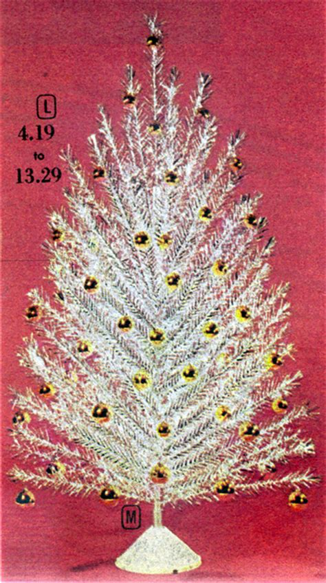 mid century living the aluminum christmas tree