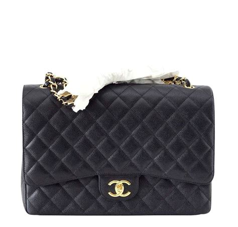 New Chanel Maxi 28x17x9cm Semiori chanel bag maxi flap black baghunter