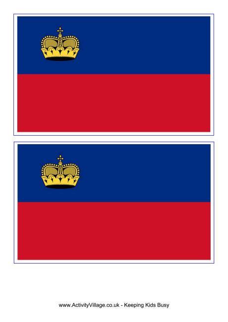 liechtenstein flag printable