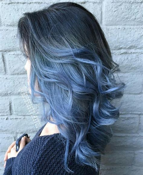 Light Blue Ombre Hair 25 insanely awesome ombre hair blue purple