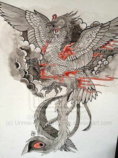 phoenix tattoo designs japanese phoenix tattoo design by unmei wo hayamete on deviantart