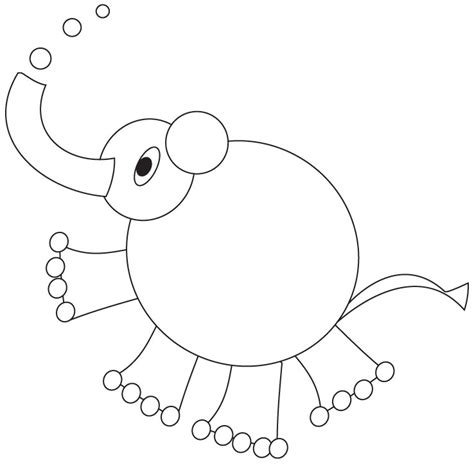 coloring pages of cartoon elephants cartoon elephant coloring page download free cartoon