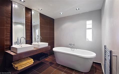 Contemporary Bathroom Decor Interior Design Ideas Modern Bathroom Decorations