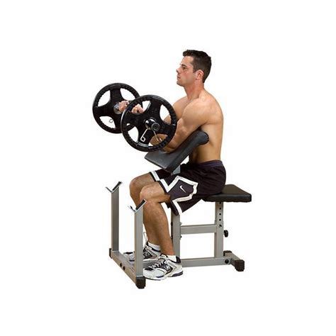 powerline preacher curl bench body solid preacher curl bench package