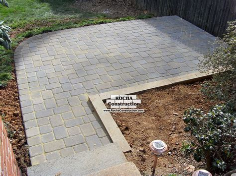 patio images pavers patio pavers to go with brick house search
