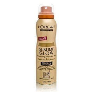Review Loreal Sublime Glow by L Oreal Sublime Glow Moisturizing Microfine Mist Reviews
