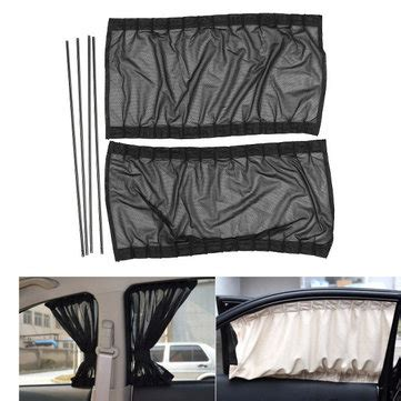 car window curtains for sale 2x 74 39cm adjustable car window sunshade side window
