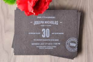 30th birthday invitation ideas new ideas