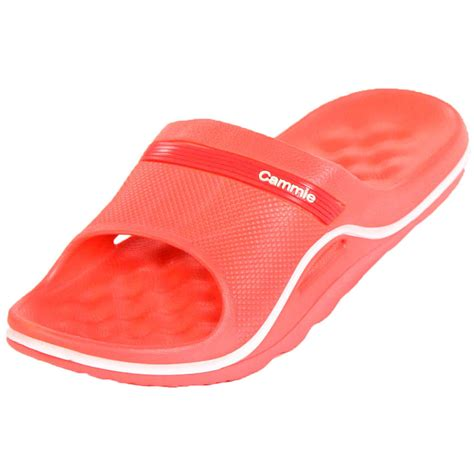 slipper sandals womens cushion slip on sandals slides house shoes flip