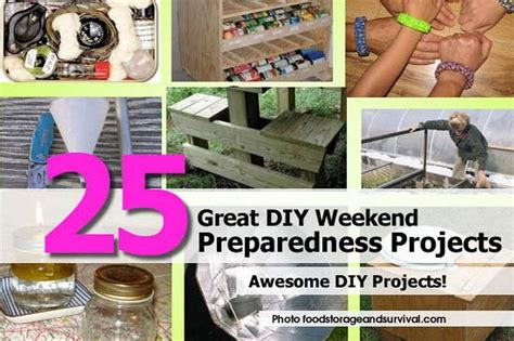 top diy weekend projects 25 great diy weekend preparedness projects