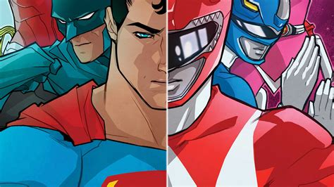 justice league power rangers jla justice league of america justice league power rangers 1 dc