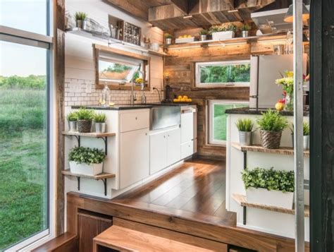 modern tiny home boasts a big kitchen for foodies treehugger alpha tiny house