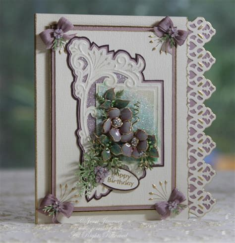 How To Make Paper Tole - a touch of grace 187 stencil embossing tutorial and paper