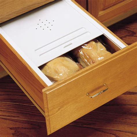 kitchen cabinet drawer kits rev a shelf kitchen bread drawer lid kit kitchensource com