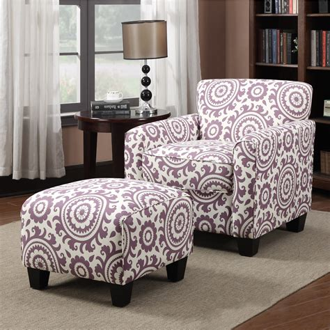 purple chair and ottoman purple accent chairs with beautiful portfolio park avenue