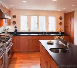 Light Cherry Kitchen Cabinets Pictures Of Kitchens Traditional Light Wood Kitchen