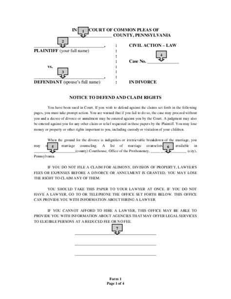 divorce complaint letter sle divorce paper denver flight