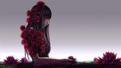 wallpaper anime girl alone alone anime girl hd wallpaper 21321 baltana