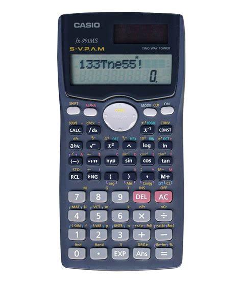 Calculator Fx 3650 Casio Scientific casio scientific calculator fx 991ms text on rent
