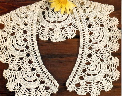 pattern crochet lace collar free crochet collar pattern crochet tutorials