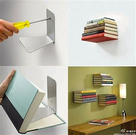 how to make an invisible floating bookshelf techeblog