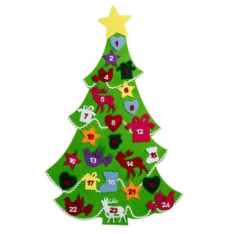 felt advent tree calendar from debenhams christmas