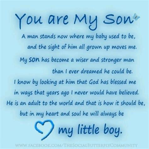 Inspirational Quotes For Sons Birthday From Happy Birthday To My Son In Heaven Quotes Quotesgram