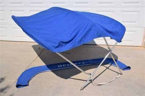 bimini top for reinell boat find factory oem reinell 191 boat bimini top new nos w