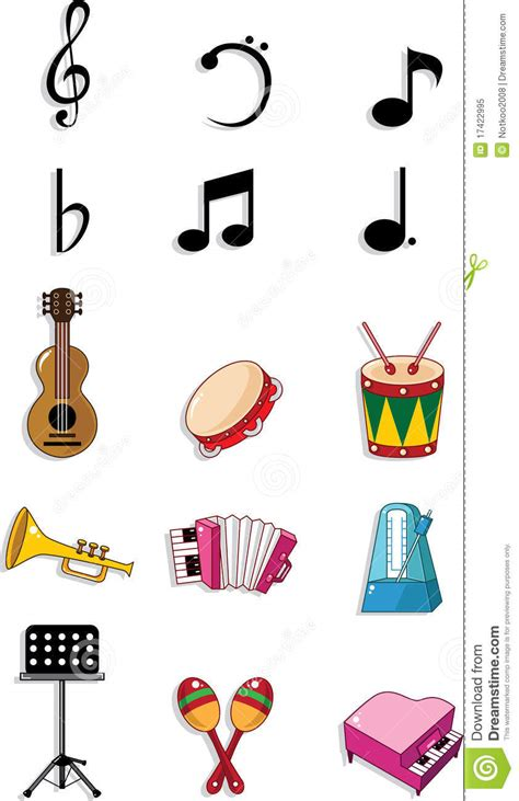 musical doodle free doodle royalty free stock photo image 17422995