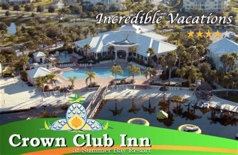 crown club inn summer bay disney world vacations at summer bay resort