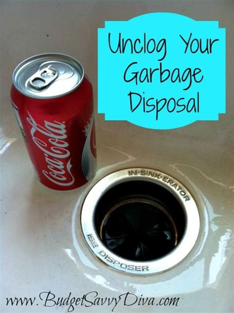 how to unclog garbage disposal double how to unclog your garbage disposal budget tips