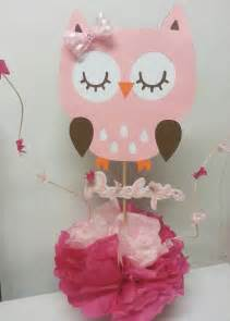 owl baby shower centerpieces s creations baby shower theme centerpieces