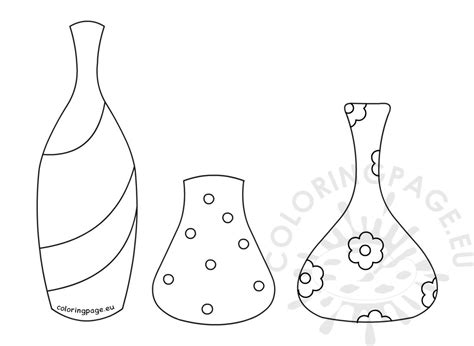 coloring pages of different types of flowers different types flower pots coloring page