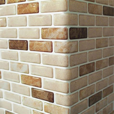 self adhesive backsplash wall tiles self adhesive wall tiles peel and stick backsplash kitchen