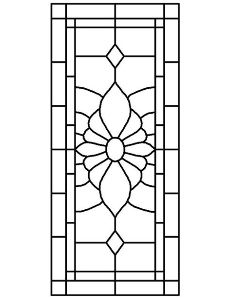 glass window stained glass window patterns