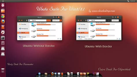 download themes ubuntu for windows 7 ubuntu theme for win 8 8 1 updated by cleodesktop on