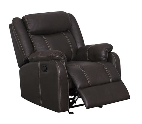 printed recliner u7303c charcoal printed fabric glider reclining chair by